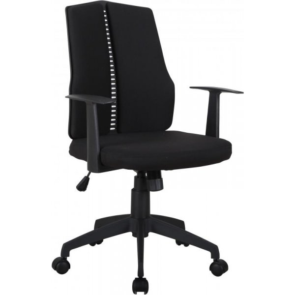 DSK CX1126M Computer Chair in Black Fabric