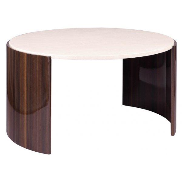 Jual JF902 Milan Gloss Walnut and Cream Coffee Table