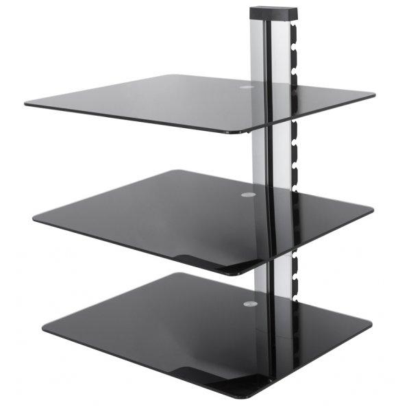 AVF AS300BS AV Shelf - Adjustable - 3 Shelf