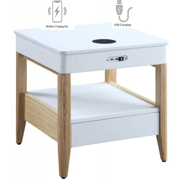 Jual JF401 San Francisco Bedside/Lamp Table - Ash