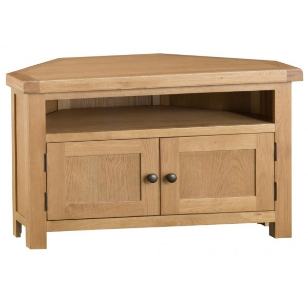 Ultimum Dartmoor 2 Drawer Corner TV Unit