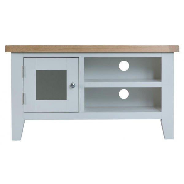 Ultimum Grasmere TV Cabinet in Grey/Oak