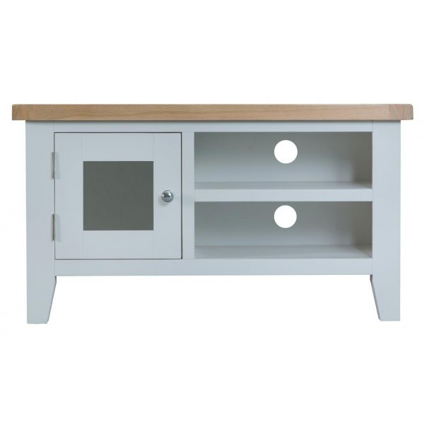 Ultimum Grasmere TV Cabinet in Grey/Oak