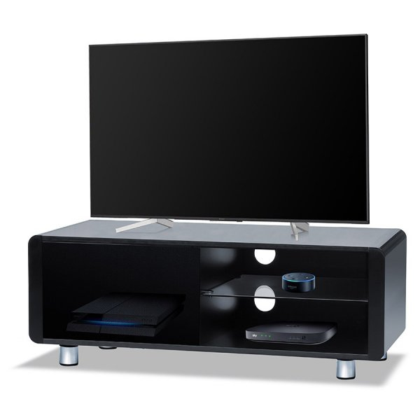 "Centurion Supports Amalfi TV Cabinet For Up To 55"" TVs - Gloss Black"