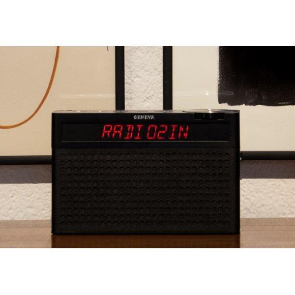 Geneva Touring S+ Black Digital Radio with Bluetooth