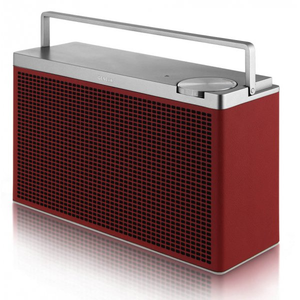 Geneva Touring M Red Bluetooth Speaker