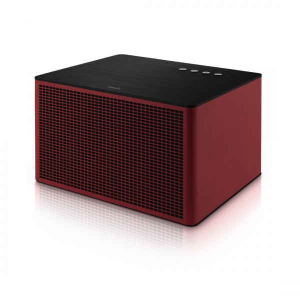 Geneva Touring Acustica Red Bluetooth Speaker