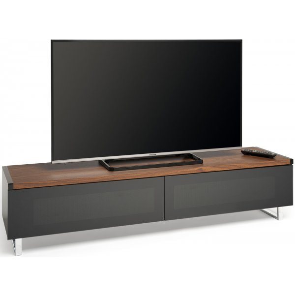 "Techlink Panorama PM160WB Dual Top For Screens up to 80"" - Walnut"