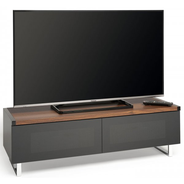 """AVF Panorama PM120WB Dual Top For Screens up to 60\"""" - Walnut"""