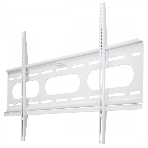 "Hama Ultraslim Flat TV Wall Bracket up to 90"" - White"