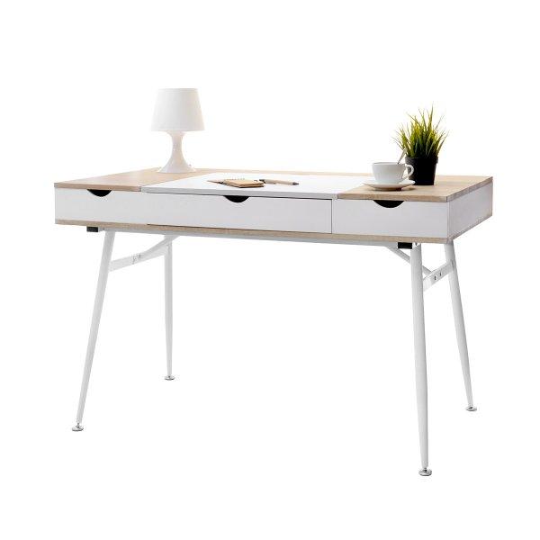 Selsey Boden Scandinavian Desk - White