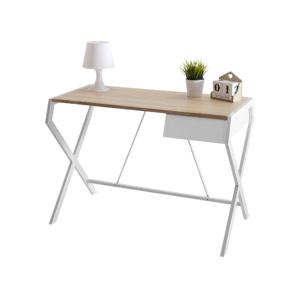 Selsey Designo Scandinavian Desk - White