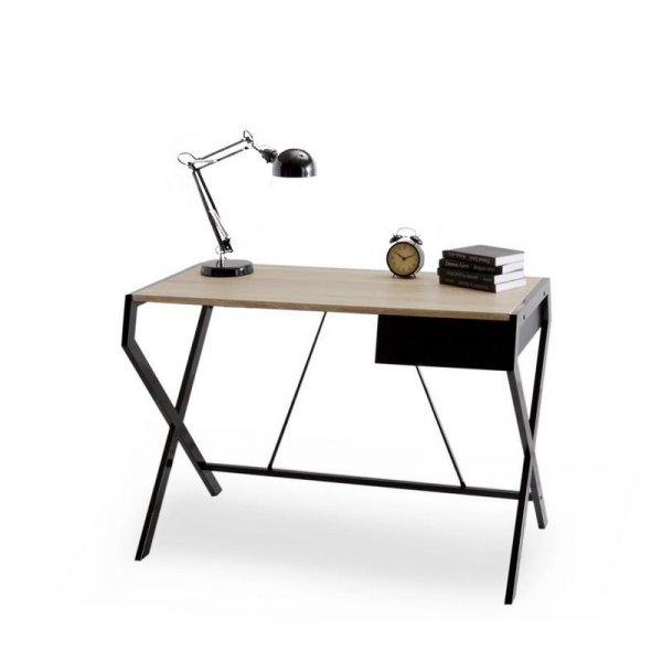 Selsey Designo Scandinavian Desk - Black
