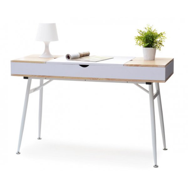 Selsey Visby Desk - White