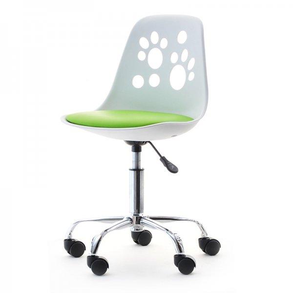 Selsey Foot Modern Chair for Childrens Desk White/Lime Green