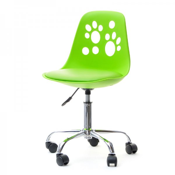 Selsey Foot Modern Chair for Childrens Desk - Green