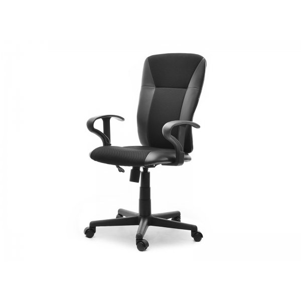 Selsey Sunds Office Armchair with Height Adjustment and Swing Function - Black