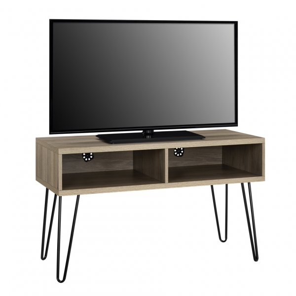 "Dorel Owen Retro TV Stand For 50\"" TVs - Rustic Oak"