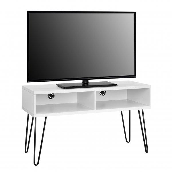 """Dorel Owen Retro TV Stand For 50\"""" TVs - White"""