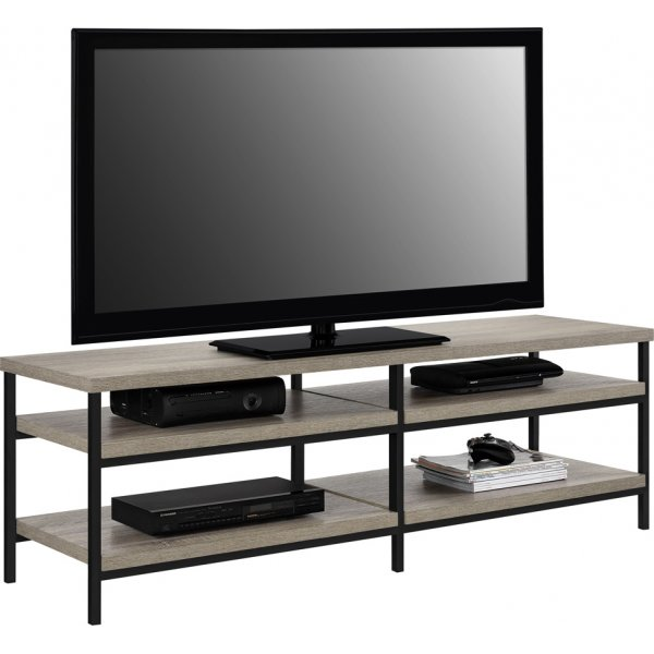 "Alphason Elmwood TV Stand For 60"" TVs - Distressed Grey Oak"
