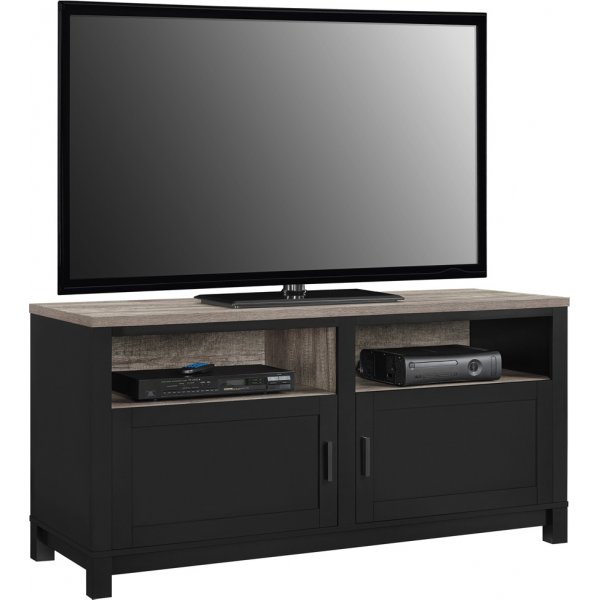 """Dorel Carver TV Stand For 60\"""" - Black"""