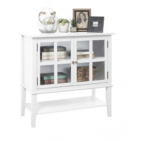 Dorel Franklin 2 Door Storage Cabinet - White