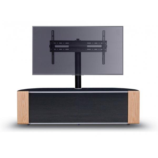 MDA Designs Sirius 1600 Hybrid Oak Cantilever TV Cabinet