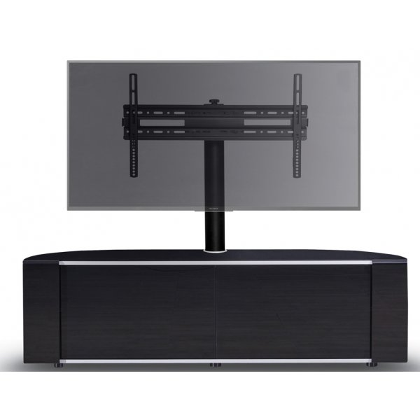 MDA Designs Sirius 1600 Hybrid Black Cantilever TV Cabinet