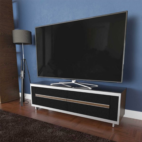 """AVF Options BRT1500A Breathe 1500 TV Stand For Up To 70\"""" TVs - Walnut"""