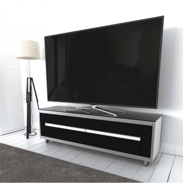 """AVF Options BRT1500A Breathe 1500 TV Stand For Up To 70\"""" TVs - White"""