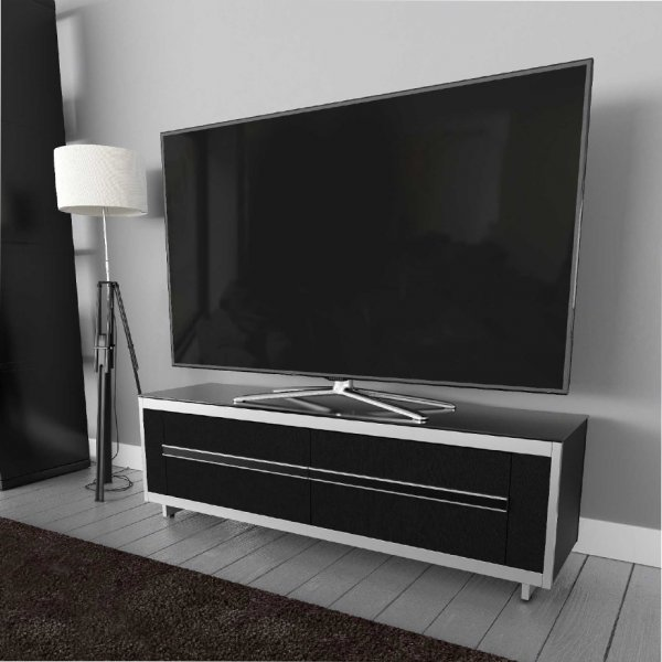 "AVF Options BRT1500A Breathe 1500 TV Stand For Up To 70"" TVs - Black"
