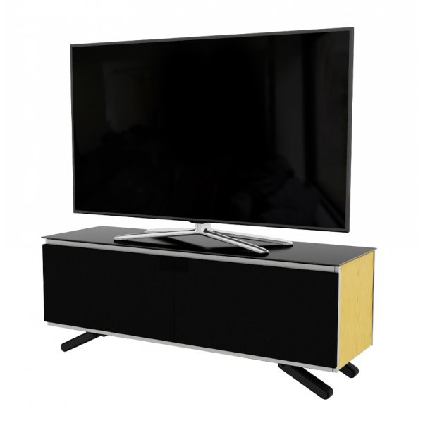 "AVF Options ESC1250A Escape TV Stand For Up To 55"" TVs - Oak"