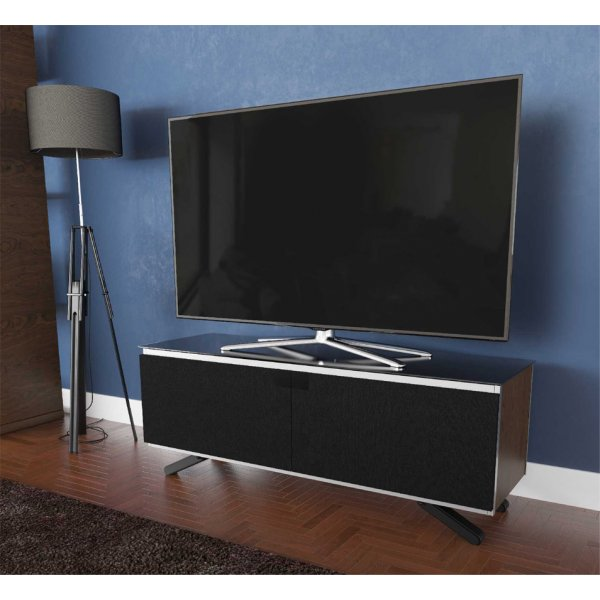 "AVF Options ESC1250A Escape TV Stand For Up To 55"" TVs - Walnut"