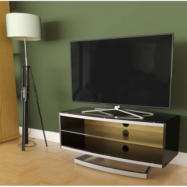 """AVF Options PRT1000A Portal TV Stand For Up To 47\"""" TVs - Oak"""