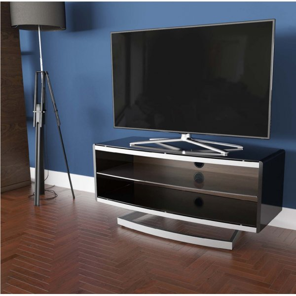 """AVF Options PRT1000A Portal TV Stand For Up To 47\"""" TVs - Walnut"""