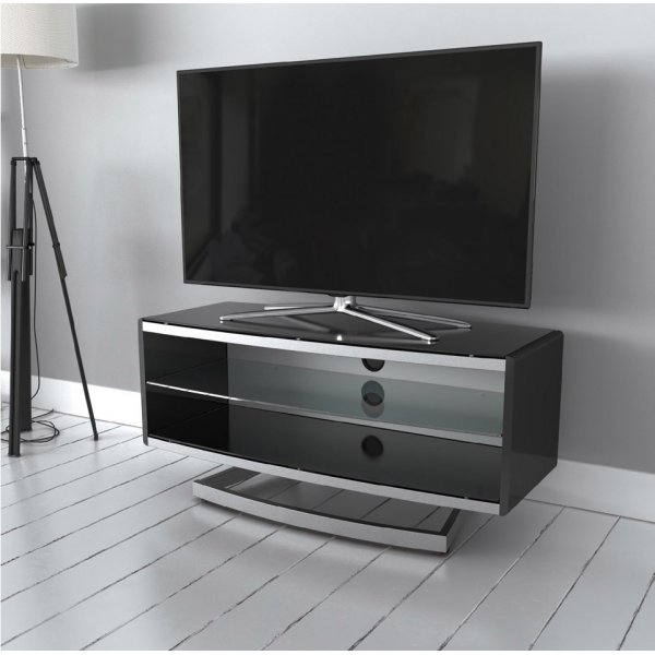 """AVF Options PRT1000A Portal TV Stand For Up To 47\"""" TVs - White"""