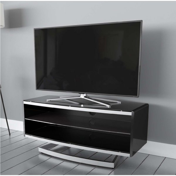"AVF Options PRT1000A Portal TV Stand For Up To 47"" TVs - Black"