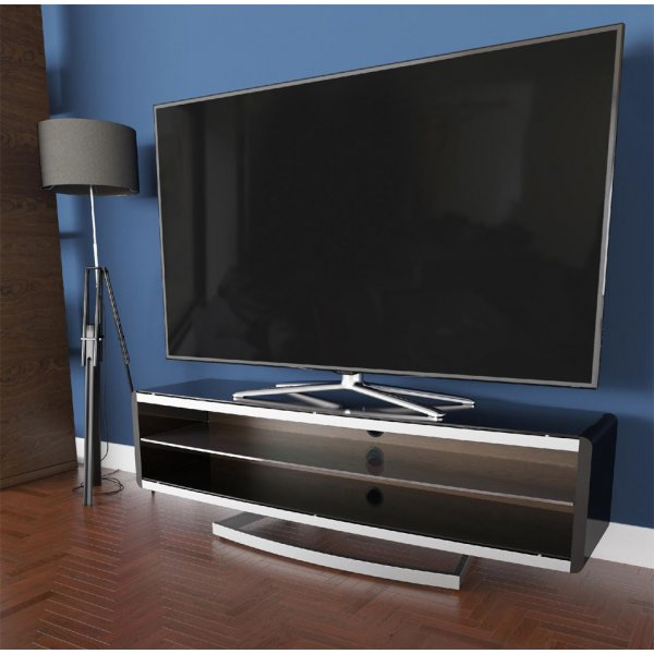 """AVF Options PRT1500A Portal TV Stand For Up To 70\"""" TVs - Walnut"""