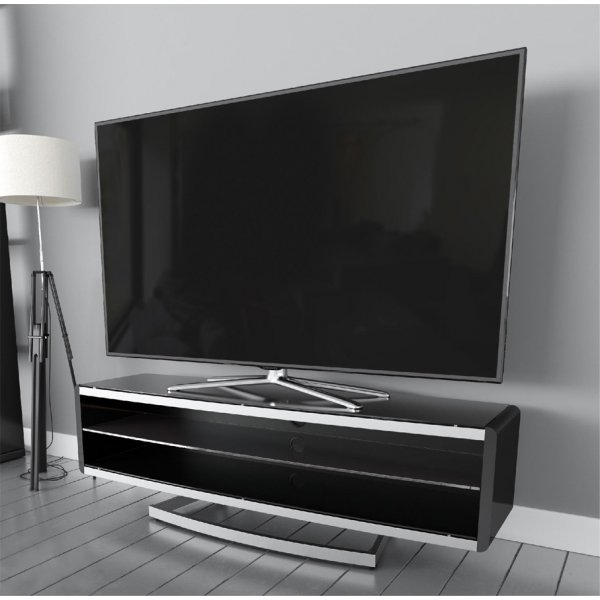 """AVF Options PRT1500A Portal TV Stand For Up To 70\"""" TVs - Black"""