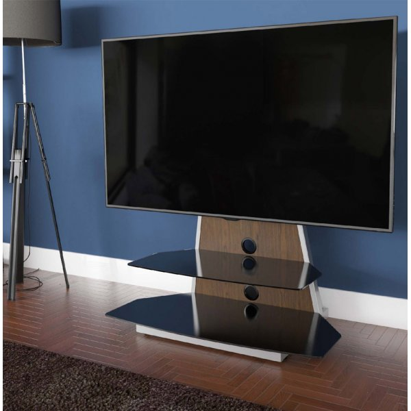 """AVF Options STKL900A Stack TV Stand For Up To 65\"""" TVs - Walnut"""