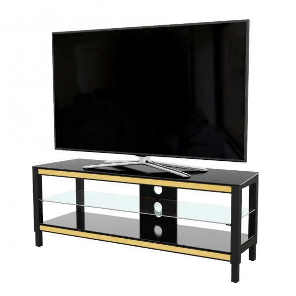 "AVF Options TWS1250A Twist TV Stand For Up To 55"" TVs - Oak"