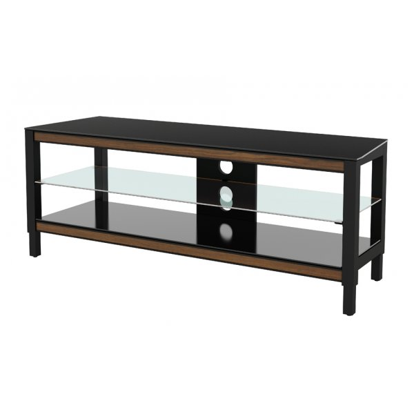 "AVF Options TWS1250A Twist TV Stand For Up To 55"" TVs - Walnut"