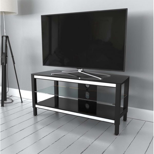 """AVF Options TWS1250A Twist TV Stand For Up To 55\"""" TVs - White"""