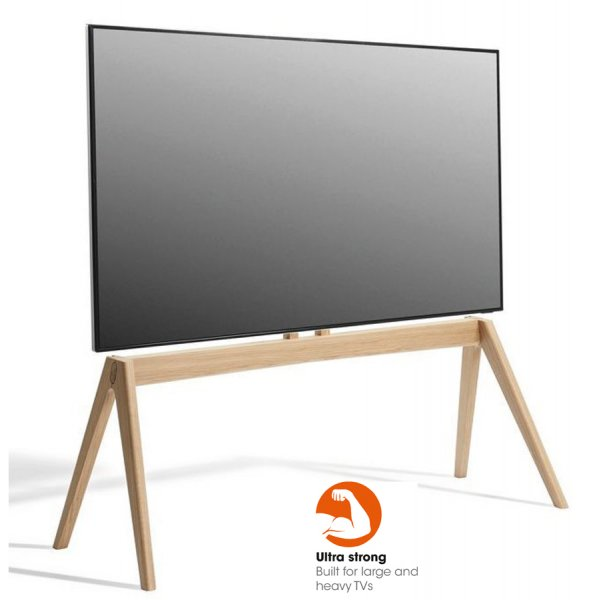 """Vogel\'s NEXT OP2 TV Floor Stand  for 50\"""" to 77\"""" TVs with FREE DASHBOARD TABLET MOUNT"""