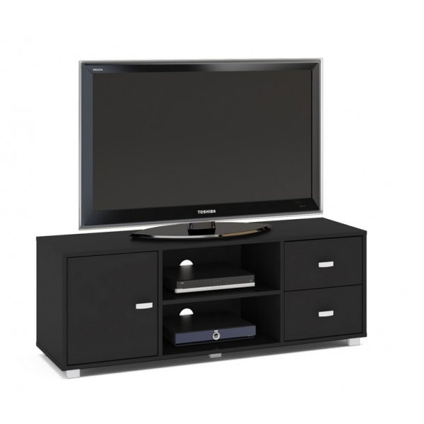 "TNW Hyde TV Stand Unit for TVs up to 65"" - Black"
