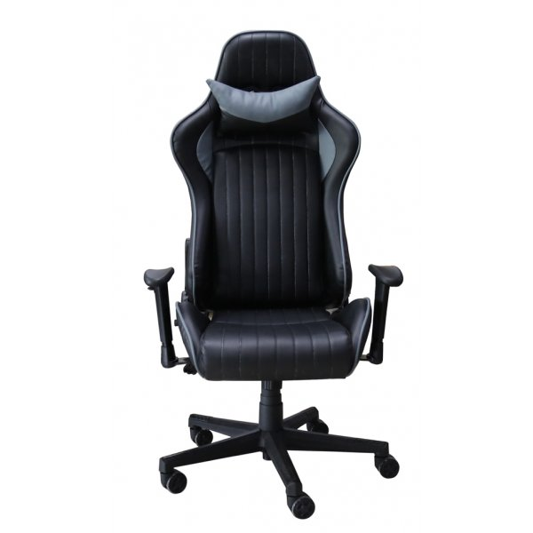 Alphason Senna Modern Gaming Chair - Black/Grey