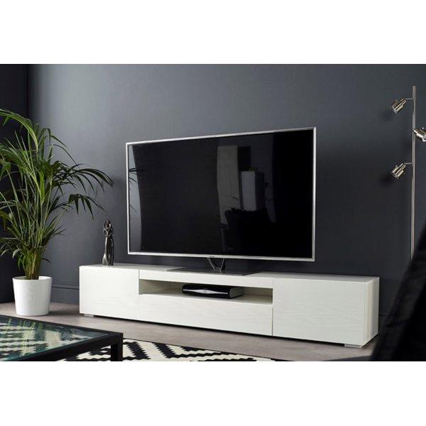 """MMT SMT-DAIQ2000 White Gloss TV Cabinet For 70\"""" TVs"""