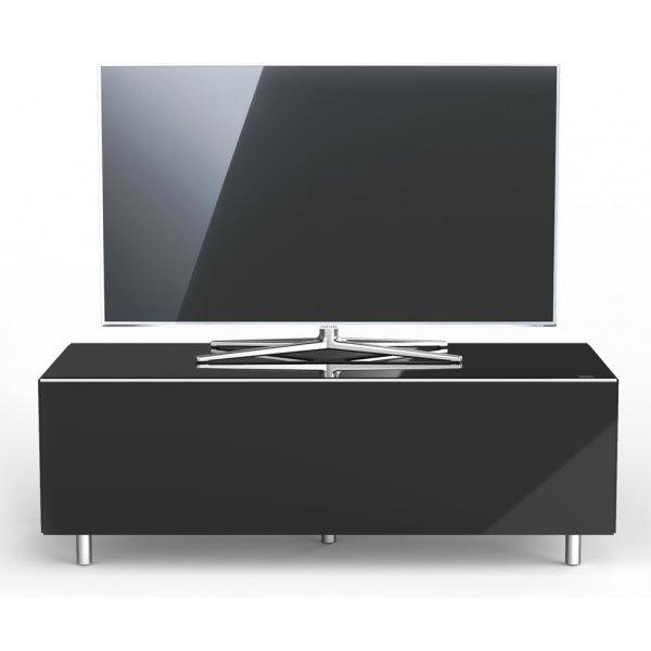 Just Racks JRL1100T Luxury Black TV Stand Cabinet