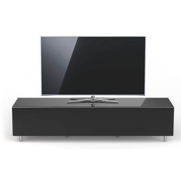 Just Racks JRL1650T BG Black Gloss TV Cabinet