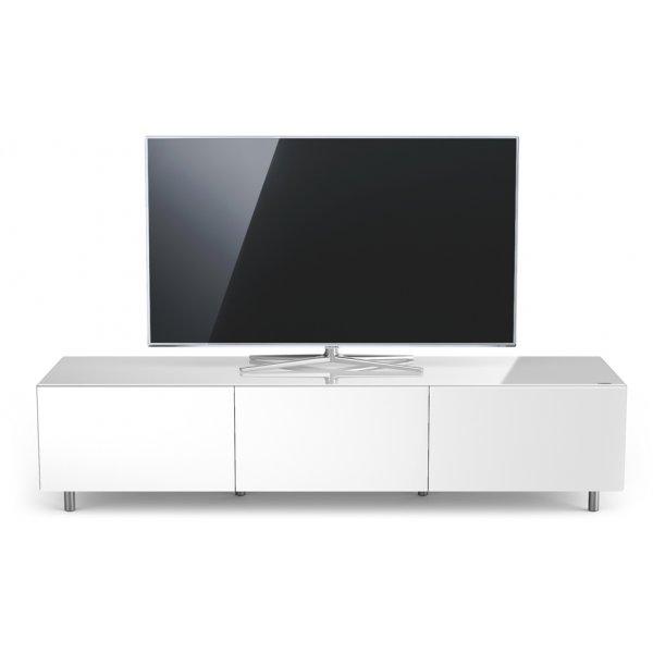 Just Racks JRL1650T-SL Gloss White TV Cabinet